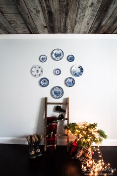 Baby It's Cold Outside-Heathered Nest 2015 Holiday Home Tour (Part 1) - Heathered Nest