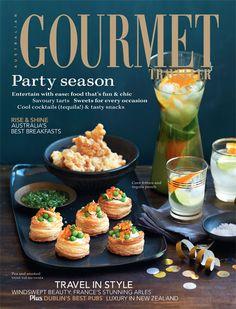 Gourmet magazine.