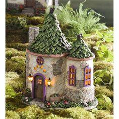 Miniature Fairy Garden Cornwall Solar House | Miniature Fairy Gardens