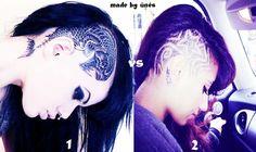punk hair !!
