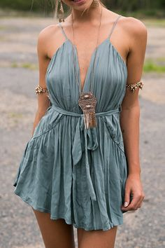 Cupshe A Great Day Plunging Short Dress - $20