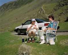 Martin Parr - Lake District. Honister Pass. 1994. -