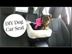 DIY Dog Car Seat Tutorial - YouTube