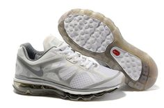 1MjzC Nike Air Max 2012 Women's Running Shoes Summit White Stealth-Metallic Silver