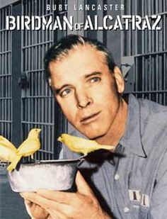 The Birdman of Alcatraz Starring: Burt Lancaster, Karl Malden, Thelma Ritter and Telly Savalas Top Movies, Great Movies, Movies And Tv Shows, Cult Movies, Disney Movies, Lancaster, Love Movie, Movie Tv, Betty Field