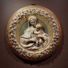 Isabella Stewart Gardner Museum : Virgin and Child, Benedetto da Maiano