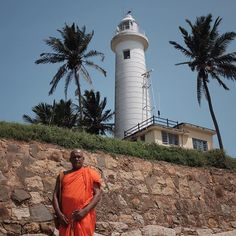 """The beautiful lighthouse and the monk. Only in Galle. #galle #fort #gallefort #srilanka #wanderlust #monk #fujifilmx100t"" Photo taken by @eze86 on Instagram, pinned via the InstaPin iOS App! http://www.instapinapp.com (07/06/2015)"
