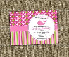 PRINTABLE+INVITATION+Little+Squirt+Pink+by+MemorableMomentsSt,+$13.00