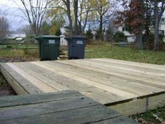 Read this post if you want to know - How to build a ground level deck (10 x 12 to be precise) and - how much would it cost vs contracting ...