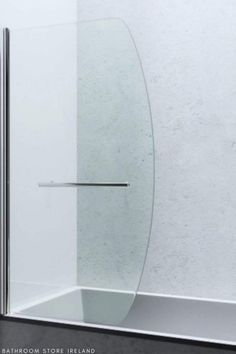 Top-quality bathtub screen made from safe tempered glass now only €185.00 Universal installation on all baths, clean transparent 6mm glass, 2 years warranty, chrome brass hinges and assembly kit included. Click the link to check out the product. For more modern bathroom appliances please visit www.bathroomstore.ie Bath Shower Screens, Bathroom Store, Brass Hinges, Wet Rooms, Shower Enclosure, Amazing Bathrooms, Colored Glass, Modern Bathroom, Baths