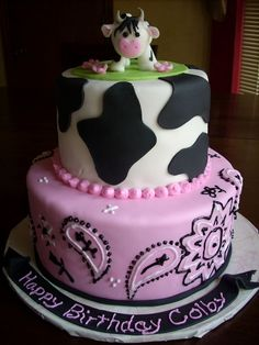 Cow Cake perfect for Sarah!!!