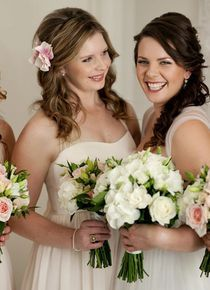 I really like the casual hair of this one Casual Hairstyles, Bridesmaid Dresses, Wedding Dresses, Fashion, Bridesmade Dresses, Bride Dresses, Moda, Bridal Gowns, Fashion Styles