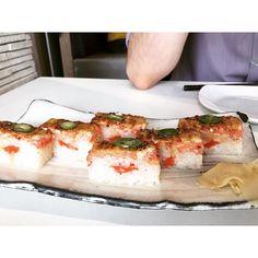 Game changer: aburi salmon sushi #sushi #aburi #salmon #phoneeatsfirst #vancouver by wanderluste