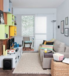 14 salas pequenas e inspiradoras - Casa