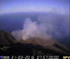 Stromboli volcano (Italy): news and eruption updates / 31 Mar - 23 May 2016