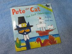 YouTube Channel of Kids Stories...Pete The Cat ~ The First Thanksgiving Children's Read Along Story Book Aloud By James Dean - YouTube