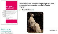 Marie Bonaparte comme psychanaliste