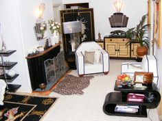 An Art Deco Dolls House made and furnished by Artisans by Jazz - Dolls' Houses Past & Present