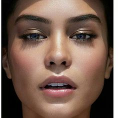 Makeup by makeup artist Rae Morris