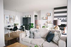 Ambiente integrado - como unir estar, jantar e home office