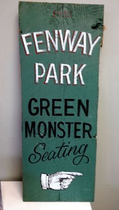 17 trendy Ideas old wood signs lettering fenway park Old Wood Signs, Carved Wood Signs, Bathroom Door Sign, Truck Lettering, Round Wood Table, Shabby Chic Signs, Porcelain Wood Tile, Bakery Sign, Beach House Signs