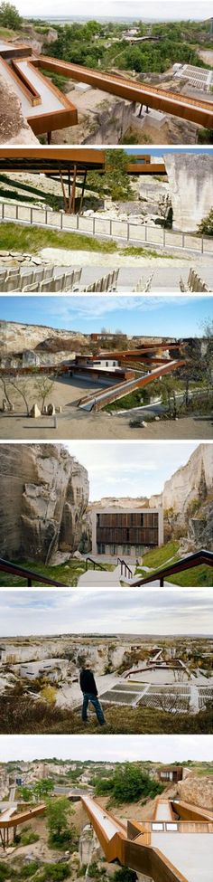 Roman quarry converted to an opera stage in St. Margarethen, Austria. Click image for link to full description and visit the slowottawa.ca boards >> http://www.pinterest.com/slowottawa