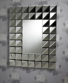 Stunning Bevelled Multi-Faceted Mirror