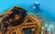 Alger Underwater Preserve: The West Michigan Underwater Preserve is our state's newest shipwreck preserve, and one of 14 on lakes Michigan, Huron and Superior.
