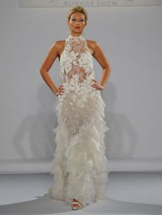 Another Barely There Weddng Dress from the Bridal Market
