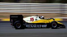 Alain Prost Renault 1983