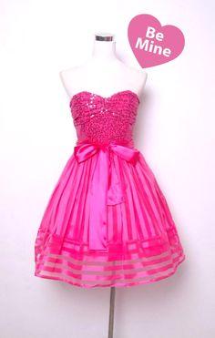 Betsey johnson Pink dress and Pink on Pinterest