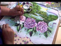 Pintando com Márcia Spassapan - Hibisco Passo a Passo - YouTube