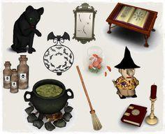 Helen-sims: Halloween set
