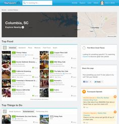 #Foursquare Adds City Pages