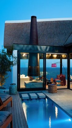 beach house, south africa/antonio petrone via: designelements