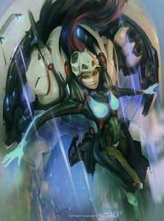 Sci-fi Art: Blanche Advance - 2D Digital, Concept art, Sci-fiCoolvibe – Digital Art
