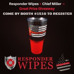 RESPONDER WIPES  @responderwipes -  Responder Wipes and @chief_miller have partnered for a giveaway at FRI. Stop by Booth 1510 to register to win Chief Miller merchandise and Responder Wipes. .  #firetruck #firedepartment #fireman #firefighters #ems #kcco  #brotherhood #firefighting #paramedic #firehouse #rescue #firedept  #workingfire #feuerwehr  #brandweer #pompier #medic #retten #firefighter #bomberos #Feuerwehrmann  #IAFF  #ehrenamt  #boxalarm  #fireservice #fullyinvolved  #thinredline…