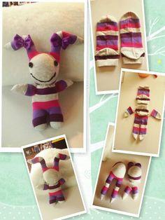 My #homemade sock toy