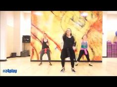 """Pa Que Baile (Zumba Remix)"" Blad MC - Dance Fitness Routine - YouTube"