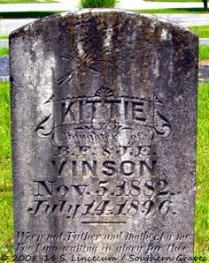 Southern Graves: And Kittie Makes Three