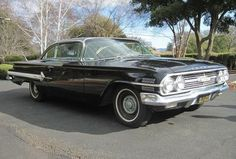 Pocket : Original Paint: 1-Owner 1960 Chevrolet Impala