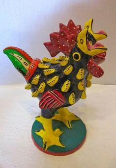 Ortega Ceramic 2-Headed Chicken