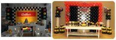 ideias de decoração  festa Carros provençal