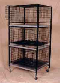 Kennel cages, cages for dogs, cats and other small animals Stackable Rabbit Cages Stacking Rabbit Cages