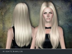 Sims 3 Finds - Female Hair 02 by Nightcrawler Sims at The Sims Resource