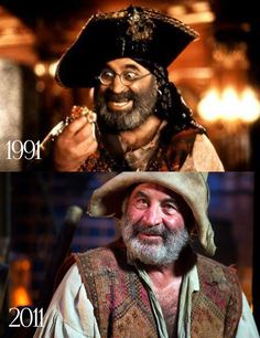 So long Smee, a good man and and a good pirate, you will be missed. RIP Bob Hoskins