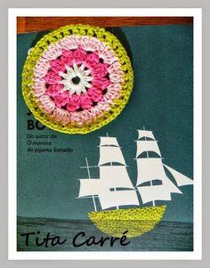 Crochet Circle ou Círculo em Crochet e o Garoto no Convés