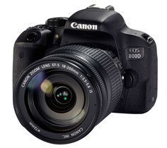 Canon EOS 800D Kit inkl. EF-S 3,5-5,6/18-200 mm IS