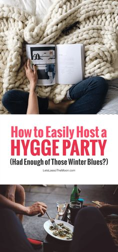 Had Enough of Winter Blues? How to Easily Host a Hygge Party! Had enough of the winter blues? How to easily host a hygge party – Ditch the winter doldrums by pausing to celebrate slow at a cozy party with friends and family Dinner Themes, Party Themes, Ideas Party, Dinner Parties, Dinner Club, Brunch Party, Supper Club, Dinner Ideas, Winter Party Foods
