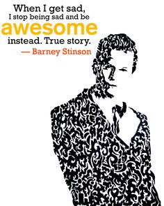 The Legendary ...Mr.Barney Stinson...Doodle art and illustration